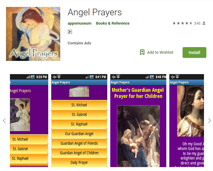 FREE Android App – Angel Prayers – Download Now! – Missionaries Of